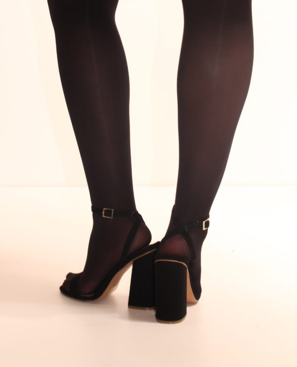Essentials Opaque Tights - Black 2