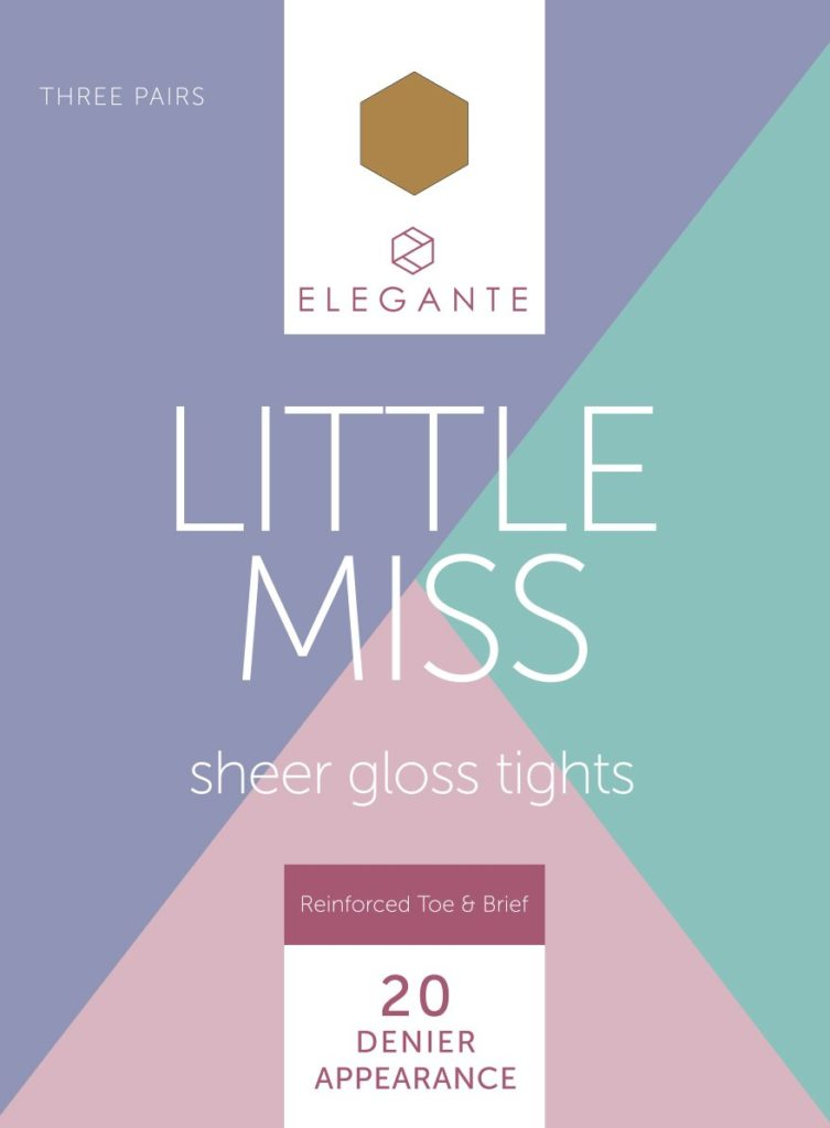 LITTLE MISS SHEER GLOSS TIGHTS